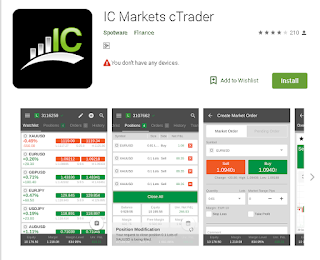 Aplikasi IC Markets Untuk Android