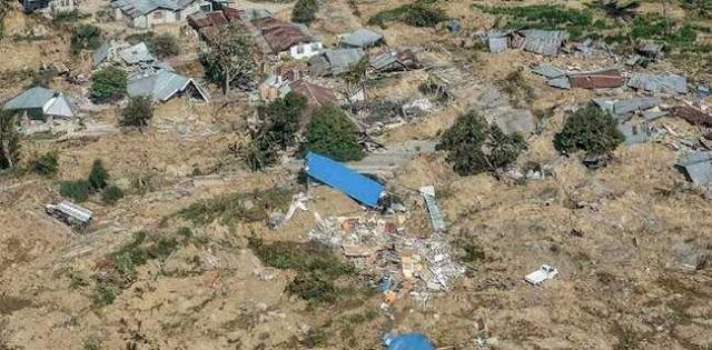 Dampak Gempa Sulteng, Desa Petobo Menjadi Hamparan