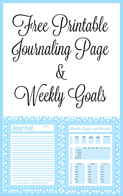 My Arthritis Journey + Free Printable Journal & Weekly Goals