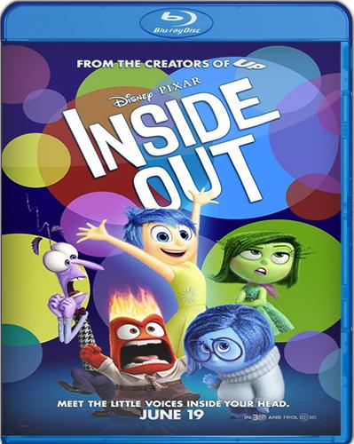Inside Out [BD25 + BD50 + Bonus] [2015] [Latino]