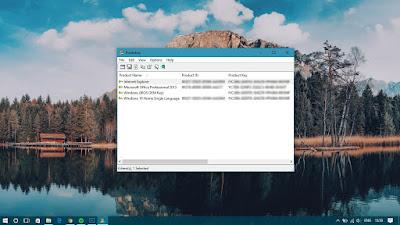 Cara Menampilkan Product Key Windows dan Office