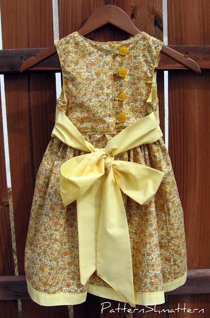 Pattern Shmattern Easter Dress