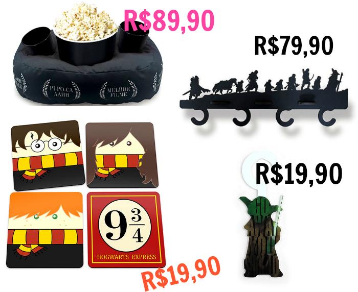 Presentes de Natal baratos e divertidos, Gorila Clube, presentes de natal para quem ama cinema, itens de decoração de cinema