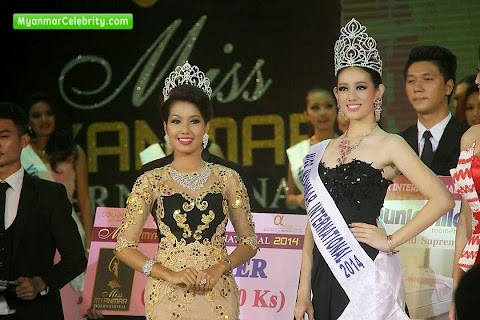 Miss Myanmar International 2014