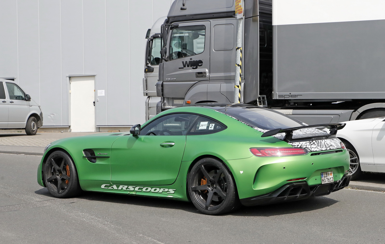 Scoop: This Is Probably The Mercedes AMG GT R Black Series