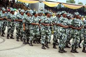 female soldiers in nigeria