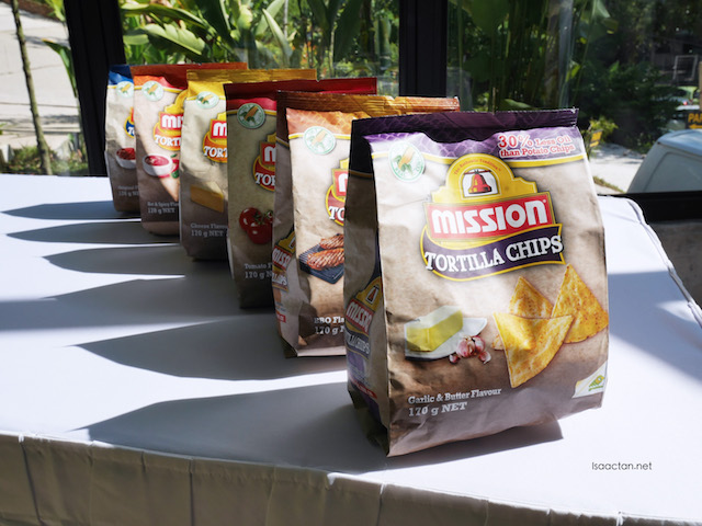 Mission Foods products: Tortilla Chips