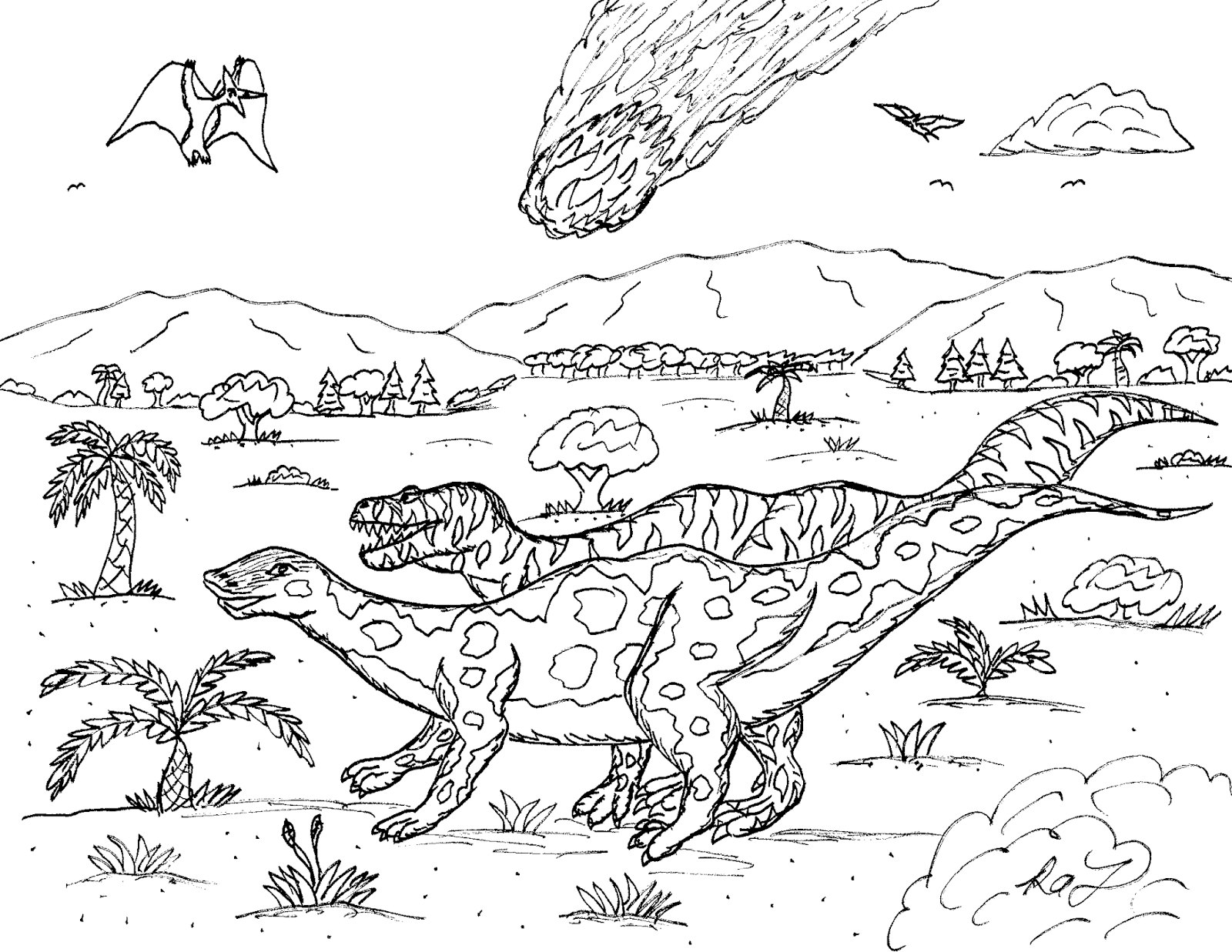 Robin's Great Coloring Pages