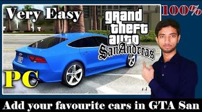 How to Add Your Favourite Car in GTA San Andreas - GTA Mod Mafia