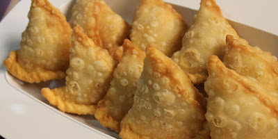 You can vary on the taste here by replacing the lemon juice Meat Crescents / Sanbusak bil-lahmeh Recipe