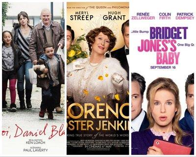 Affiches films Semaine du Cinéma Britannique - Chatou