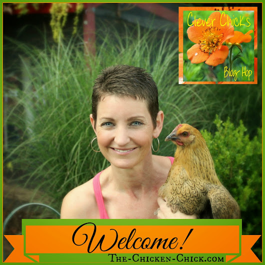 Clever Chicks Blog Hop #87 with a Chicken Fountain Giveaway!