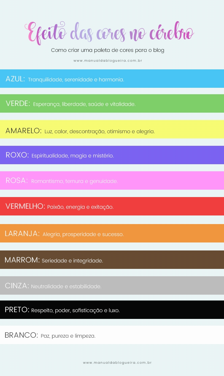 criar uma paleta de cores