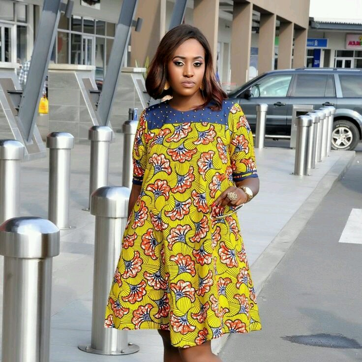 Check Out These Lovely Maxi Dresses Best African Slit Print Design