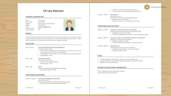 Contoh Membuat CV (Daftar Riwayat Hidup) Lengkap dan Menarik Terbaru