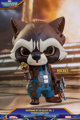 Marvel's Guardians of the Galaxy Vol. 2 Cosbaby Mini Figure Series by Hot Toys - Rocket Raccoon