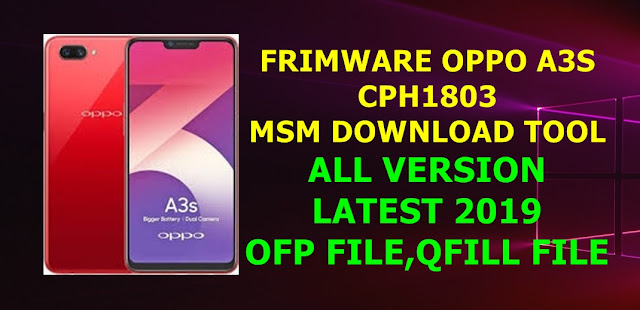 Download Firmware Oppo A3s   CaraNgeflash