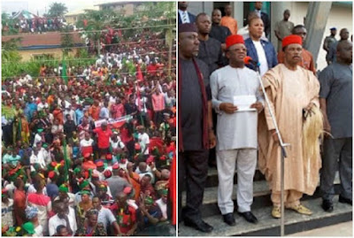 South-East governors condemns Invasion of Mazi Nnamdi Kanu's Home