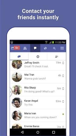 FB Lite Mod Apk Clone Messenger Terbaru 2018