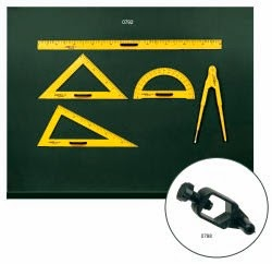 Linex Blackboard white board set