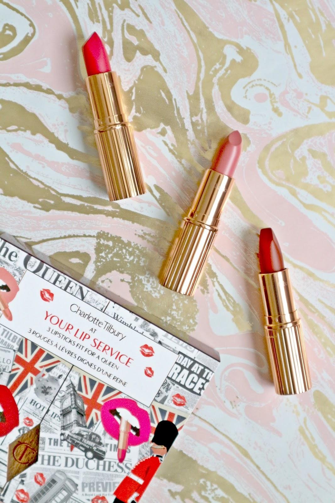Charlotte Tilbury Your Lip Service Lipstick Trio