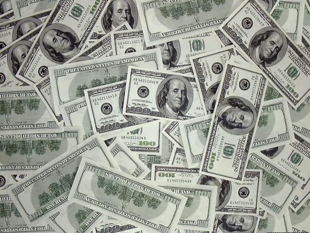 imagen billetes de cien dolares