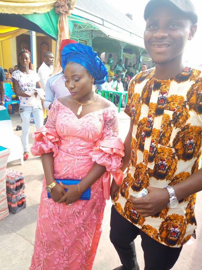 Photos Of 'Unhappy' Nigerian Woman Frowning Seriously During Her Own Wedding Go Viral
