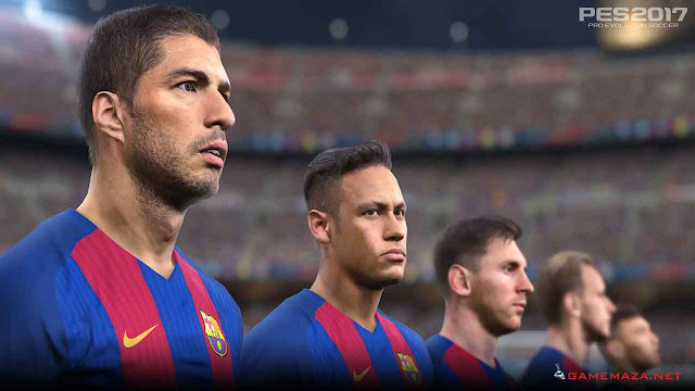 Pro Evolution Soccer (PES) 2017 Gameplay Screenshot 3