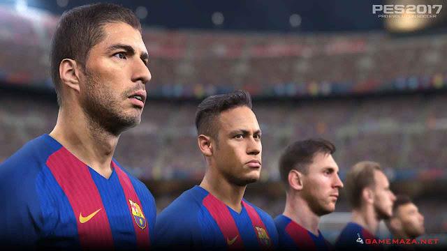 Pro Evolution Soccer (PES) 2017 Gameplay Screenshot 3