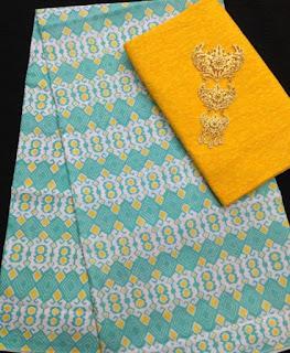 Kain Batik dan Embos 582 Kuning