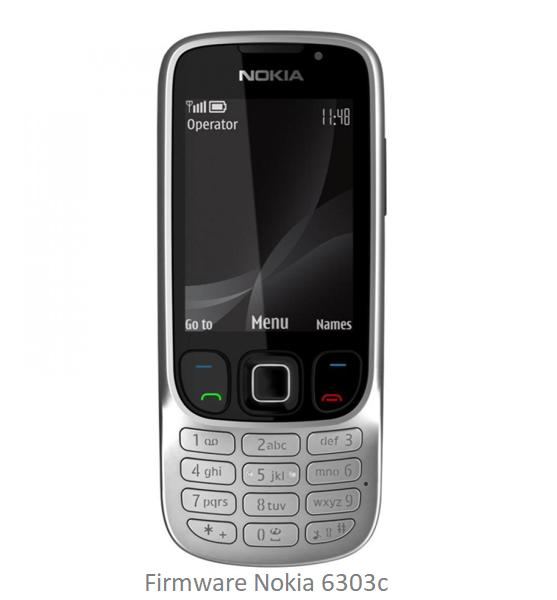 Firmware Nokia 6303C RM-443 APAC X V10.10 BI Only