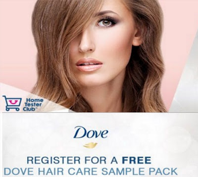 Home Tester Club Free Dove Hair Care Samples
