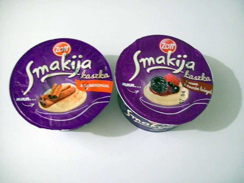 Kaszki Smakija, kaszki manne na mleku Smakija