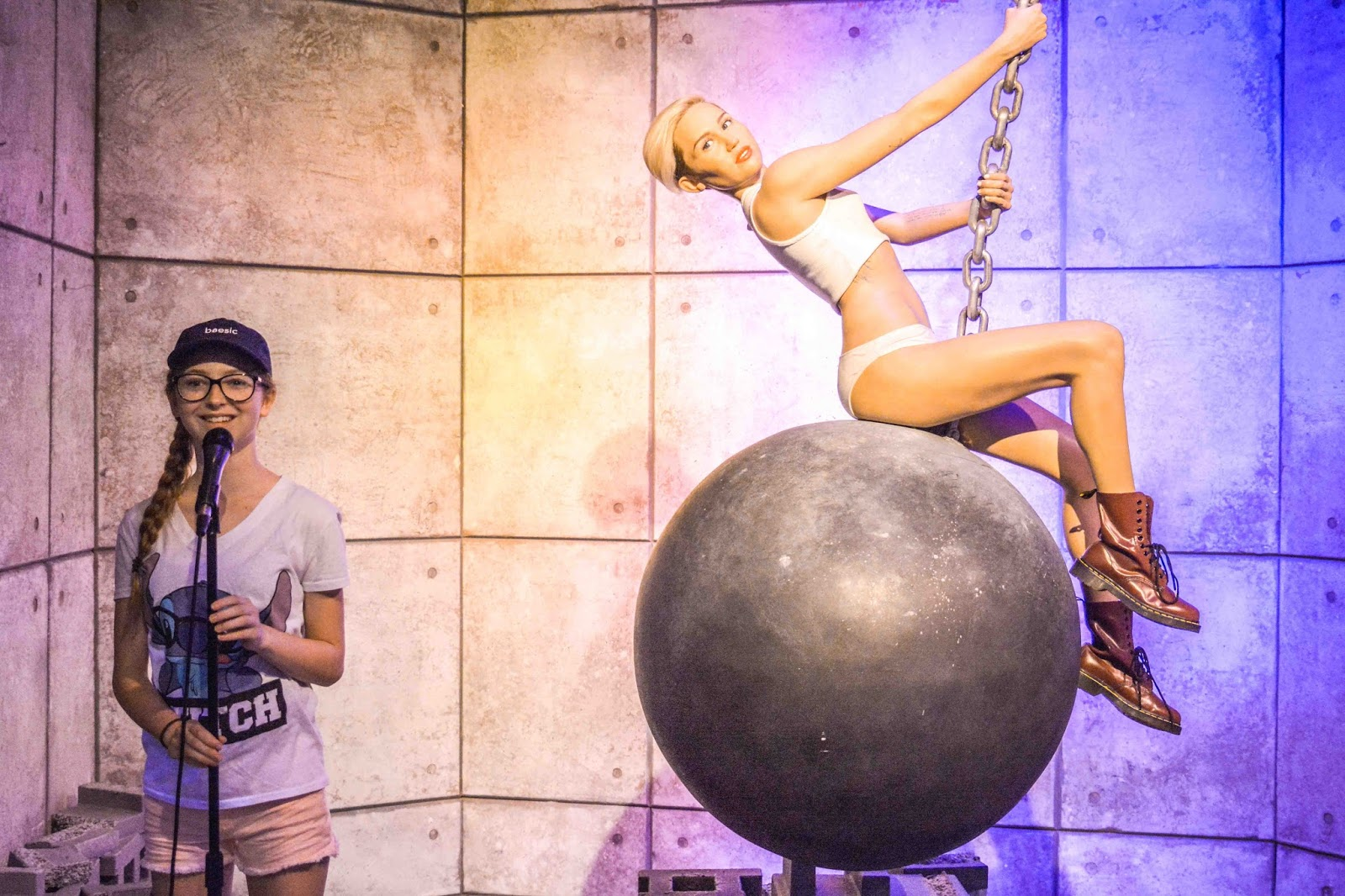 Miley Cyrus Madame Tussaud's