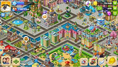 Pada kesempatan ini aku akan kembali lagi membagikan sebuah permainan Casual mempunyai mi Township MOD APK 5.8.0 Terbaru Update Version (Unlimited Money) Full Hack
