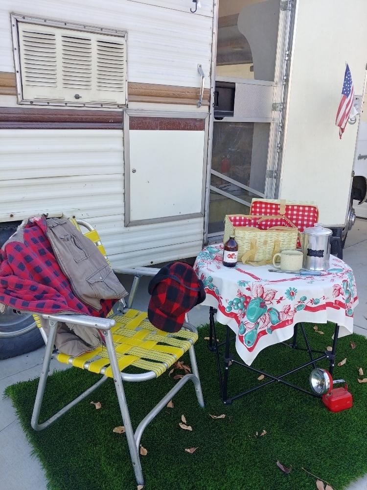 grass camping mat