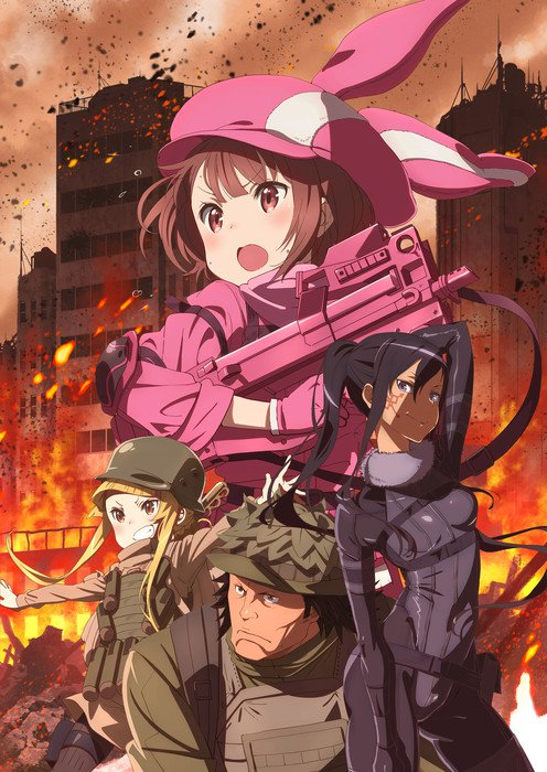 Plakat anime Sword Art Online Alternative: Gun Gale Online