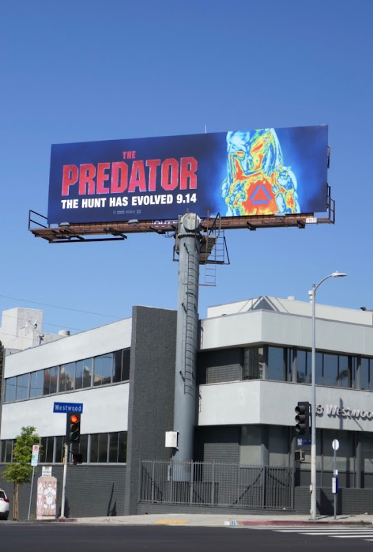 Predator 2018 billboard