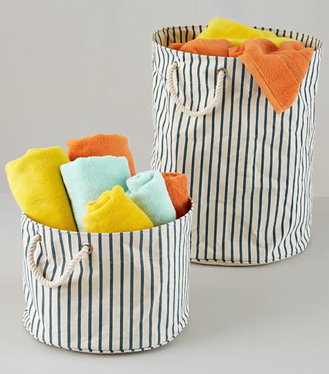 Nautical Storage Bins  sc 1 st  Completely Coastal & Coastal and Nautical Storage Baskets and Bins to Keep Things ...