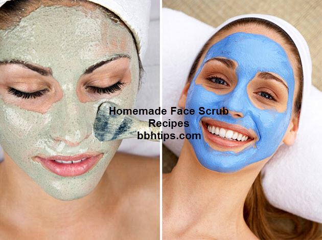 Homemade Face Scrub Recipes