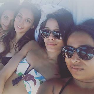 Frieda Pinto Shares Bikini Photo on Instagram