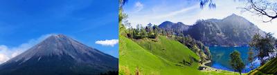 Gambar Keindahan Gunung Semeru