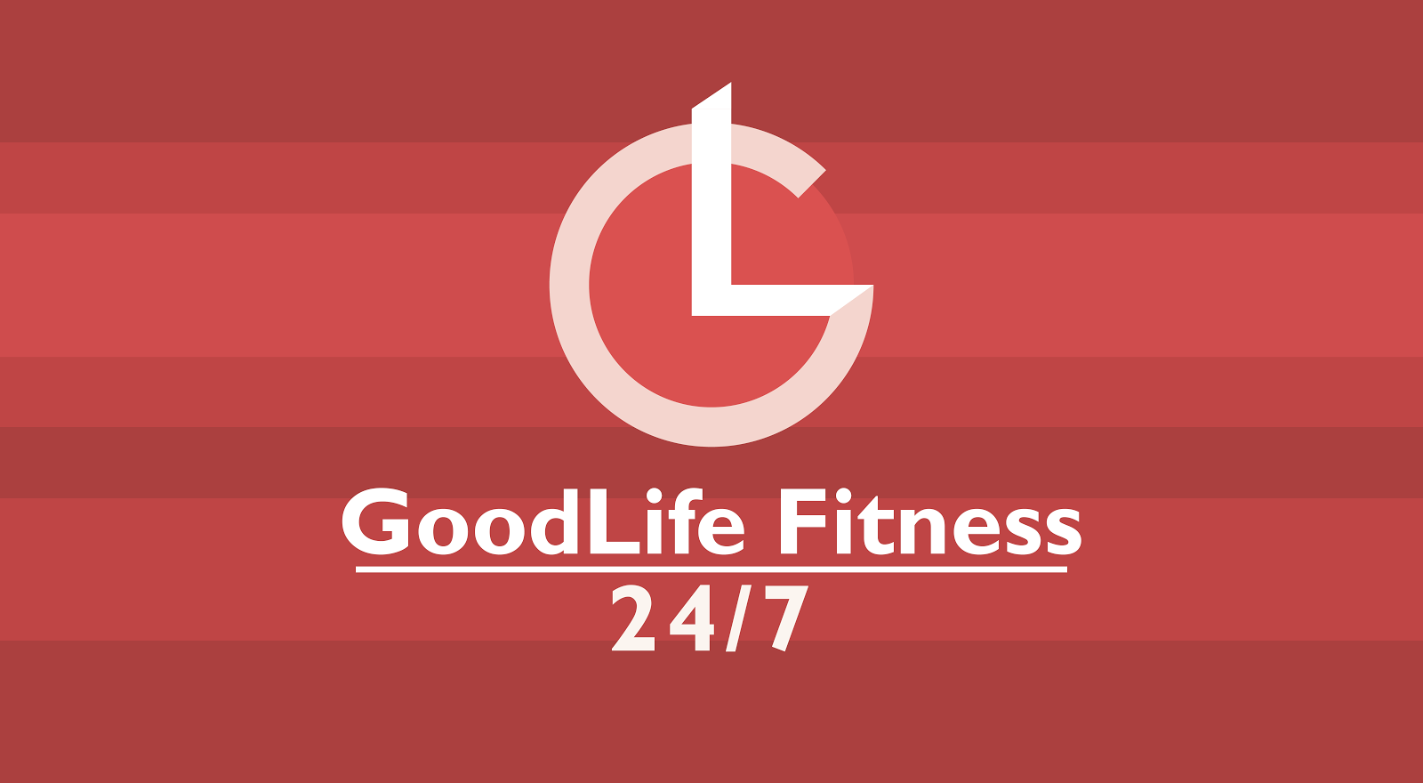 Leo Liu Illustration Design Goodlife Fitness 24 7 Logo