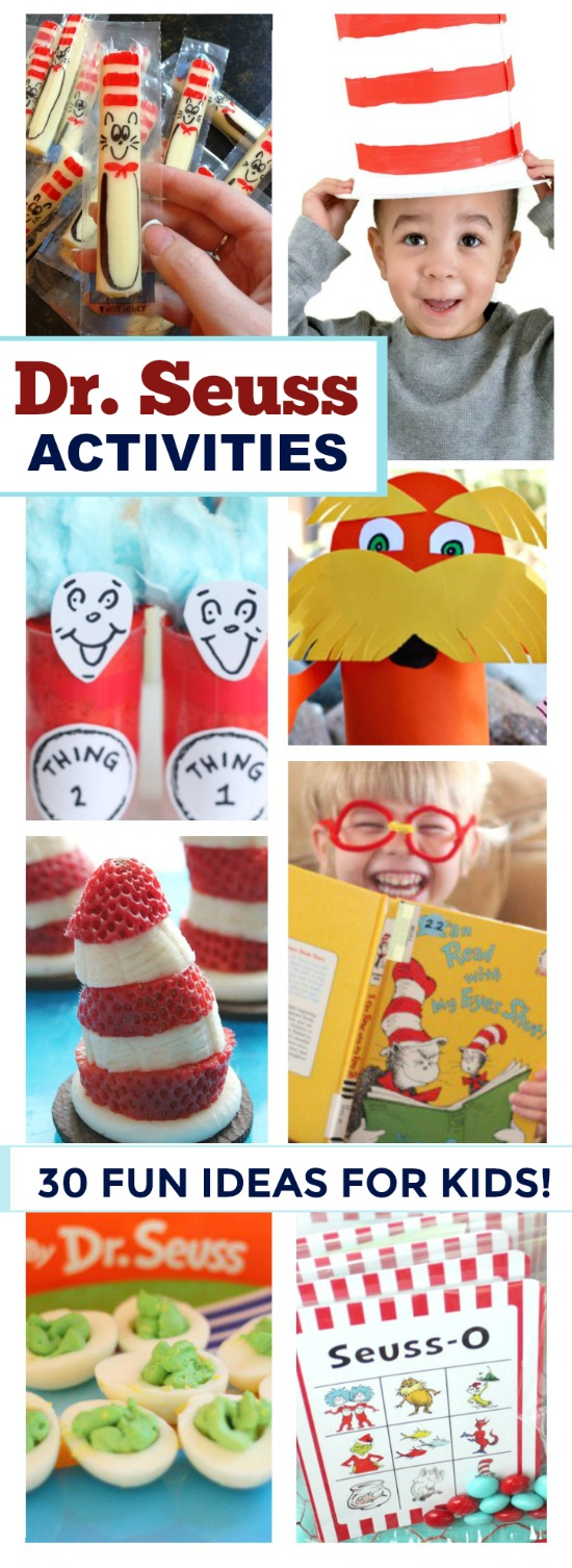 Celebrate Dr. Seuss's birthday with these fun activities & crafts {March 2nd!}