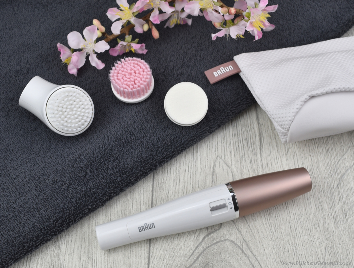 Braun FaceSpa - Gesichtsreinigungsbürste & Epilierer
