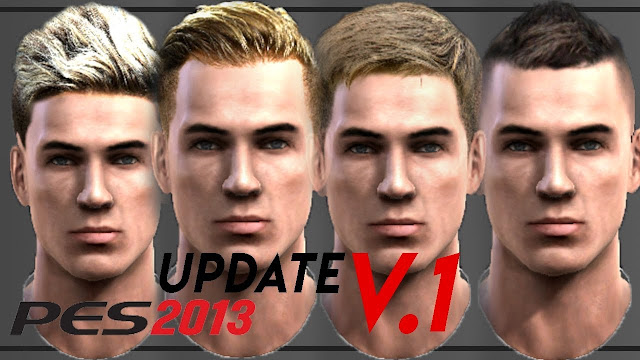 Ultigamerz Pes 2013 New Update Hairstyles Pack 2019 V1