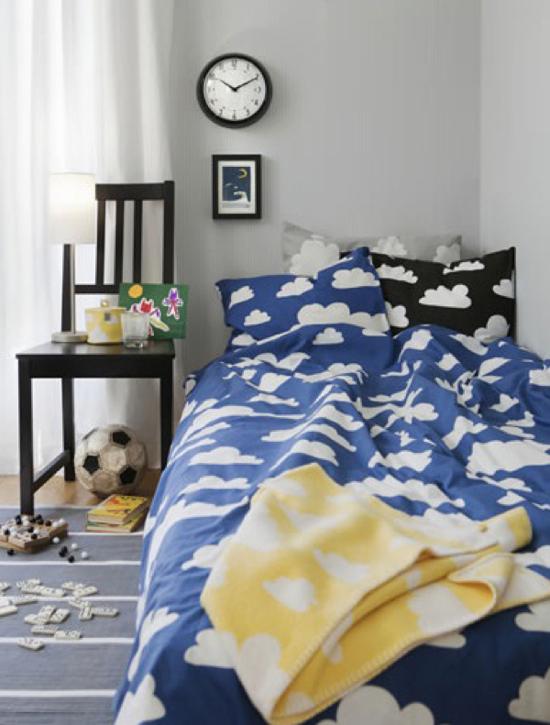 Rafa Kids Clouds Pattern Bedding From Gunila Ax 233 N
