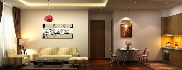 Căn hộ mẫu chung cư Tứ Hiệp Plaza Thanh Trì Hà Nội