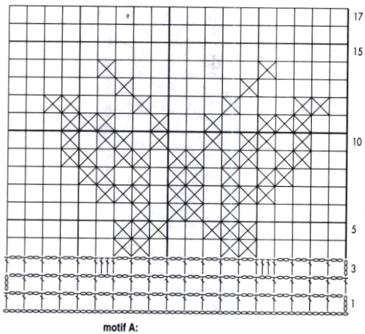 Kira scheme crochet: Scheme crochet no. 548