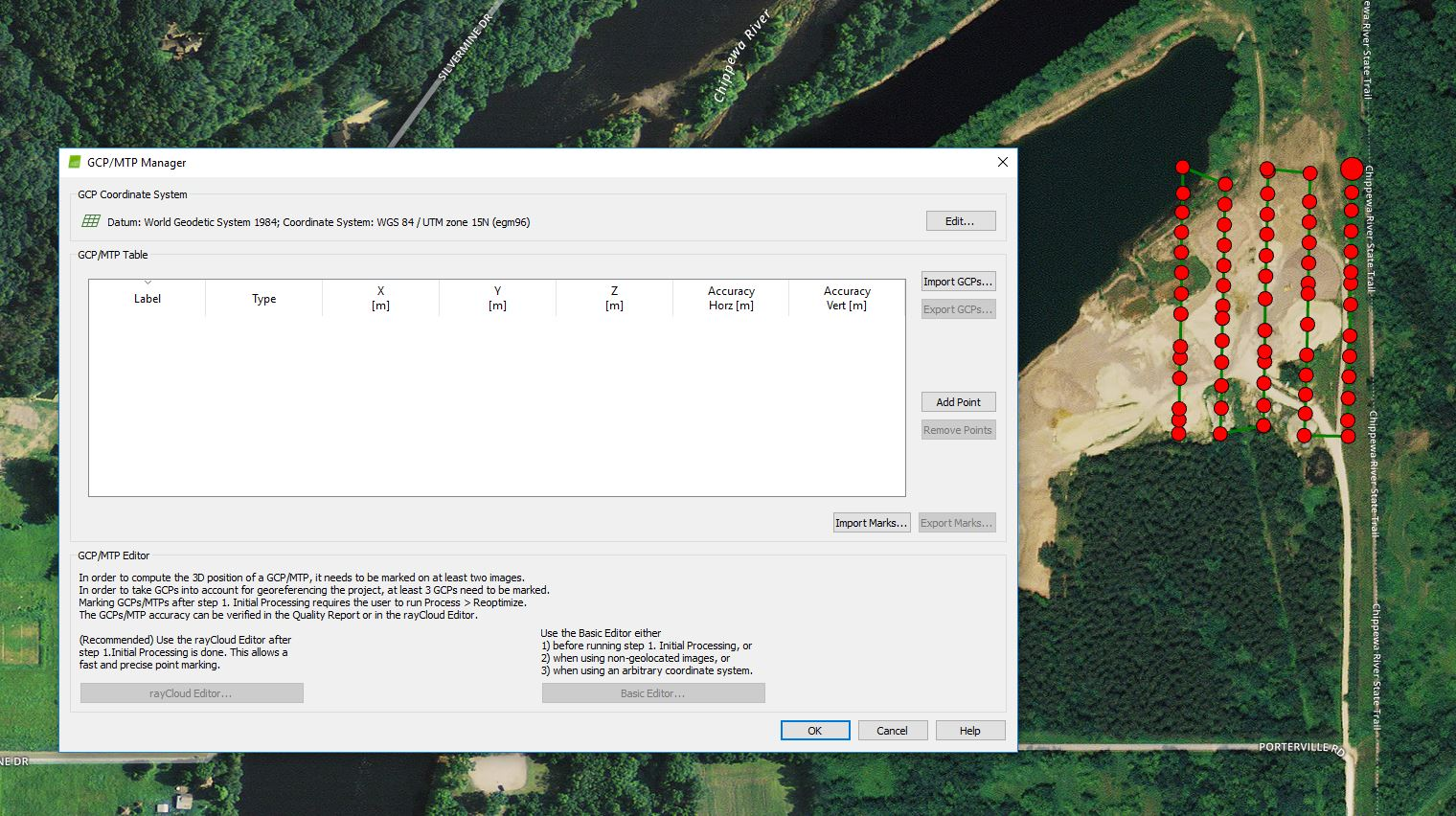 GEOG 390: Unmanned Aerial Systems: Assignment 5: Processing Pix4D